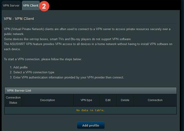 Asus Router L2TP VPN 2 - Asus Rt Ac66u Vpn Server Setup