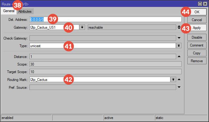 How to set up SSTP / PPTP / L2TP VPN on Mikrotik Routers | CactusVPN