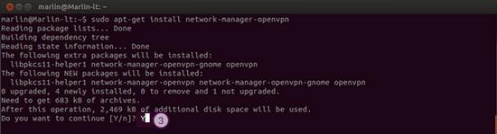 How to set up OpenVPN on Ubuntu: Step 3