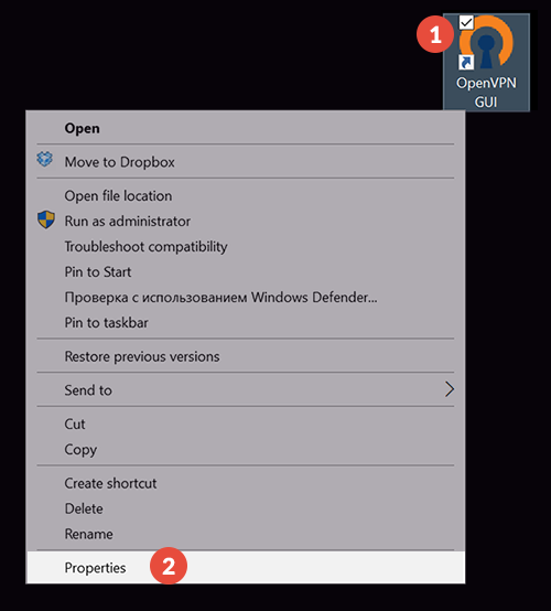 how to use openvpn to connect