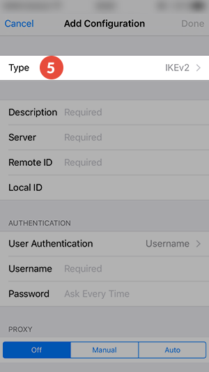 IPHONE VPN Guide
