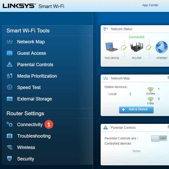 How to set up VPN on Linksys Routers | CactusVPN