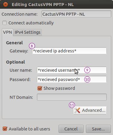 How To Set Up Pptp Vpn On Ubuntu Vpn Setup Tutorials