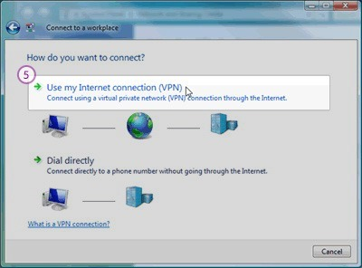 how to set up an internet connection account