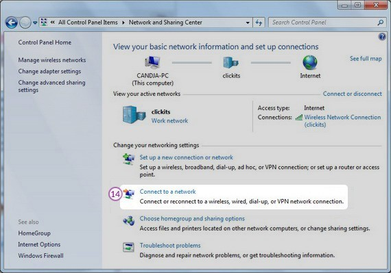 How to set up PPTP VPN on Windows 7: Step 8
