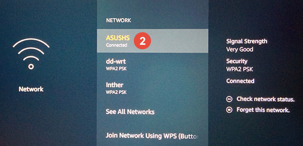 Amazon Fire TV and Fire TV Stick Smart DNS Setup: Step 2