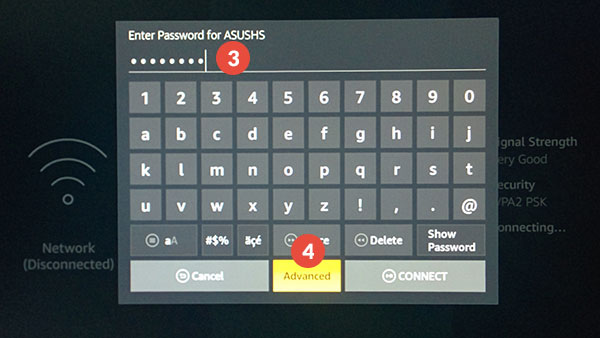 Amazon Fire TV and Fire TV Stick Smart DNS Setup: Step 3