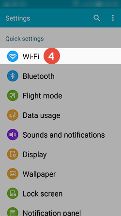 Android Smart DNS Setup: Step 3