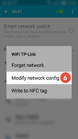 Android Smart DNS Setup: Step 5