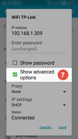 Android Smart DNS Setup: Step 6