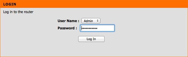 D-Link Router Smart DNS Setup: Step 2