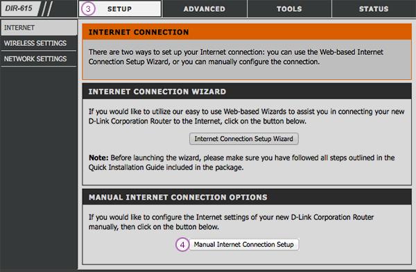 D-Link Router Smart DNS Setup: Step 3