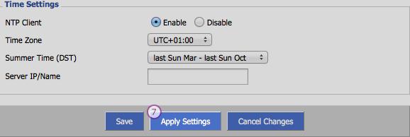 DD-WRT  Smart DNS Setup: Step 4