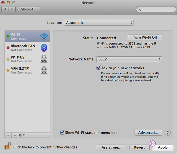 how to set up ip1900 on mac
