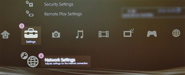 PS3 Smart DNS Setup: Step 2