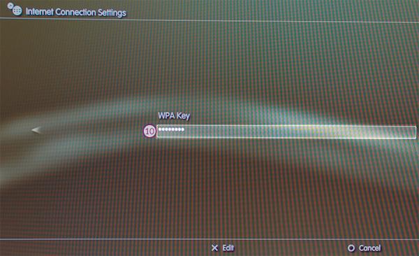 PS3 Smart DNS Setup: Step 8
