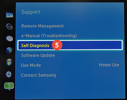 How to change region on Samsung Smart TV: Step 5