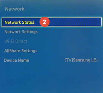 Samsung-Smart-TV Smart DNS Setup: Step 2