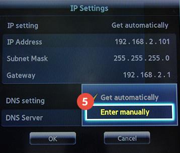 How to set up Smart DNS on Samsung Smart TV | CactusVPN