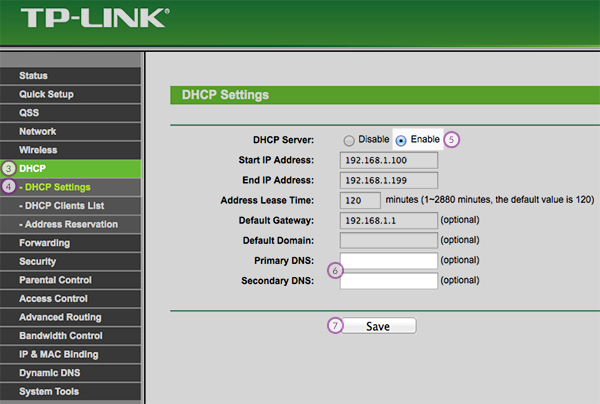 How to set up Smart DNS on TP-Link Routers | CactusVPN