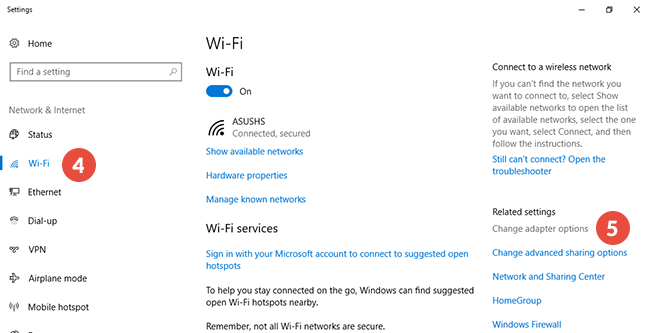 How to set up Smart DNS on Windows 10: Step 3
