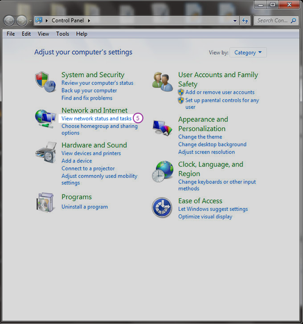 how to change the ipv4 dns settings in windows 7