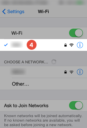 iPhone Smart DNS Setup: Step 4