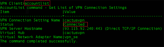 How to Set up SoftEther VPN Client on Linux: Step 4