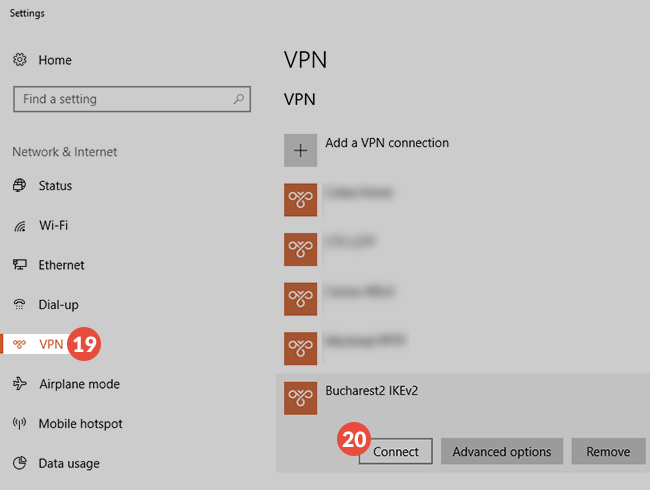 how to connect to a vpn windows 10