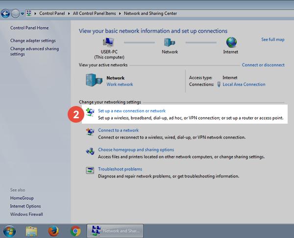 how to create vpn in windows 7