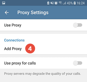 How to Set Up SOCKS5 Proxy on Telegram for Android | CactusVPN