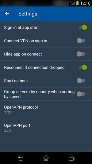 How to set up CactusVPN App for Android: Step 12