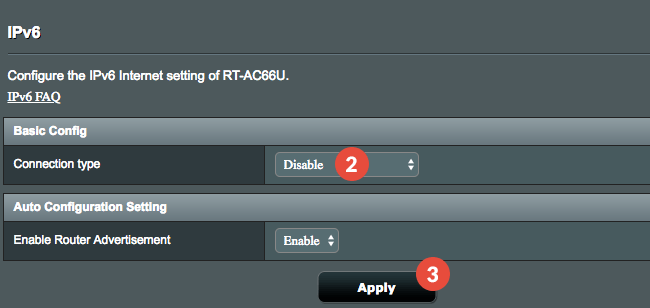 How to Disable IPv6 on Asus Routers | CactusVPN