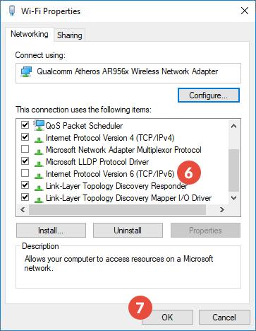 disable wireless driver windows 10