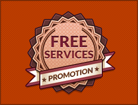 Free Services Promotion