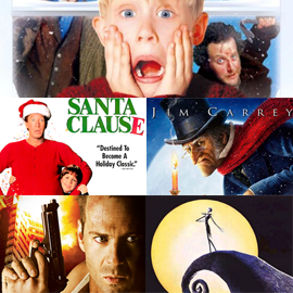 Top 5 Christmas movies online