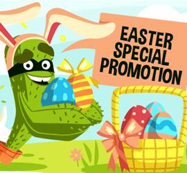 CactusVPN Easter VPN Promotion 2016