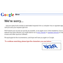 Find out why you see a Google captcha while using a VPN