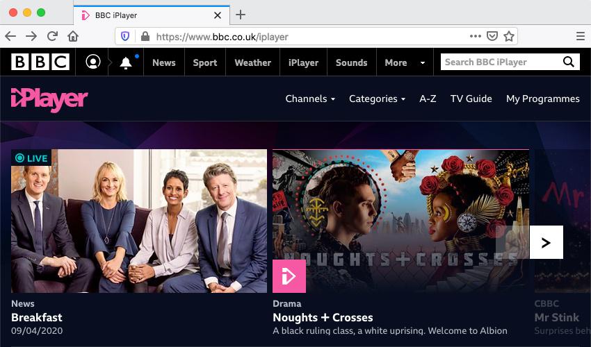 BBC iPlayer Abroad