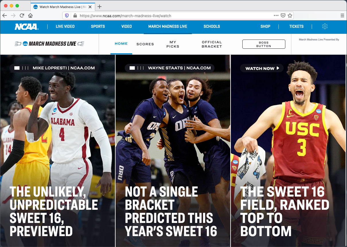 March Madness VPN